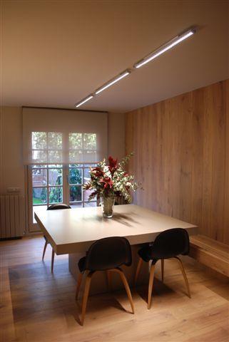 Proyecto iluminaci n interior vivienda unifamiliar for Vivienda interior