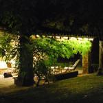 luces led para un porche