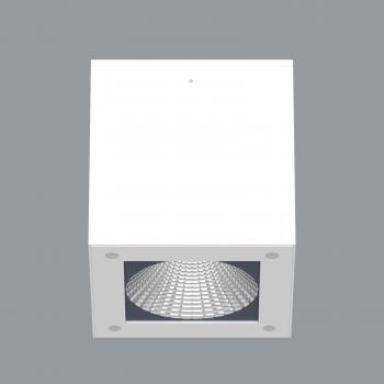Foco led de superficie cuadrado modelo Berkis Q