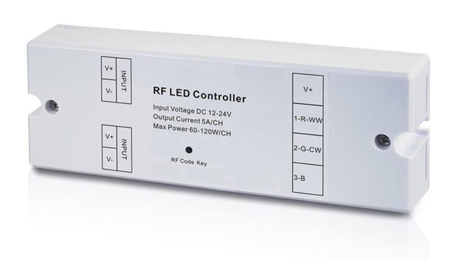 Receptor RF iluminación RGB