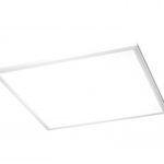 Panel LED cuadrado MIKA para techos modulares
