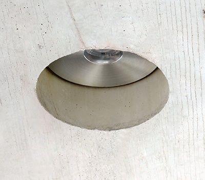 spot led para techo de hormigón