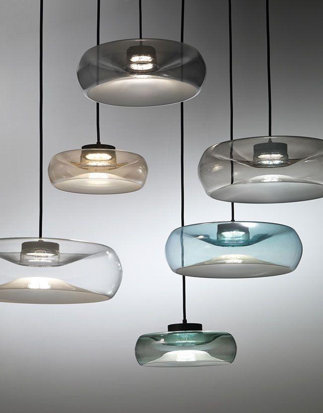 Gama colores lampara de cristal FOLD
