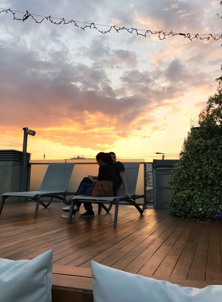 Iluminación terrazas hoteles