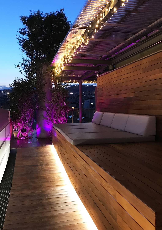 Iluminación LED Hotel