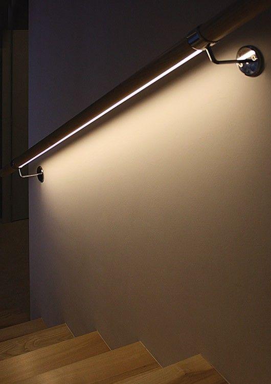 Iluminación LED escalera