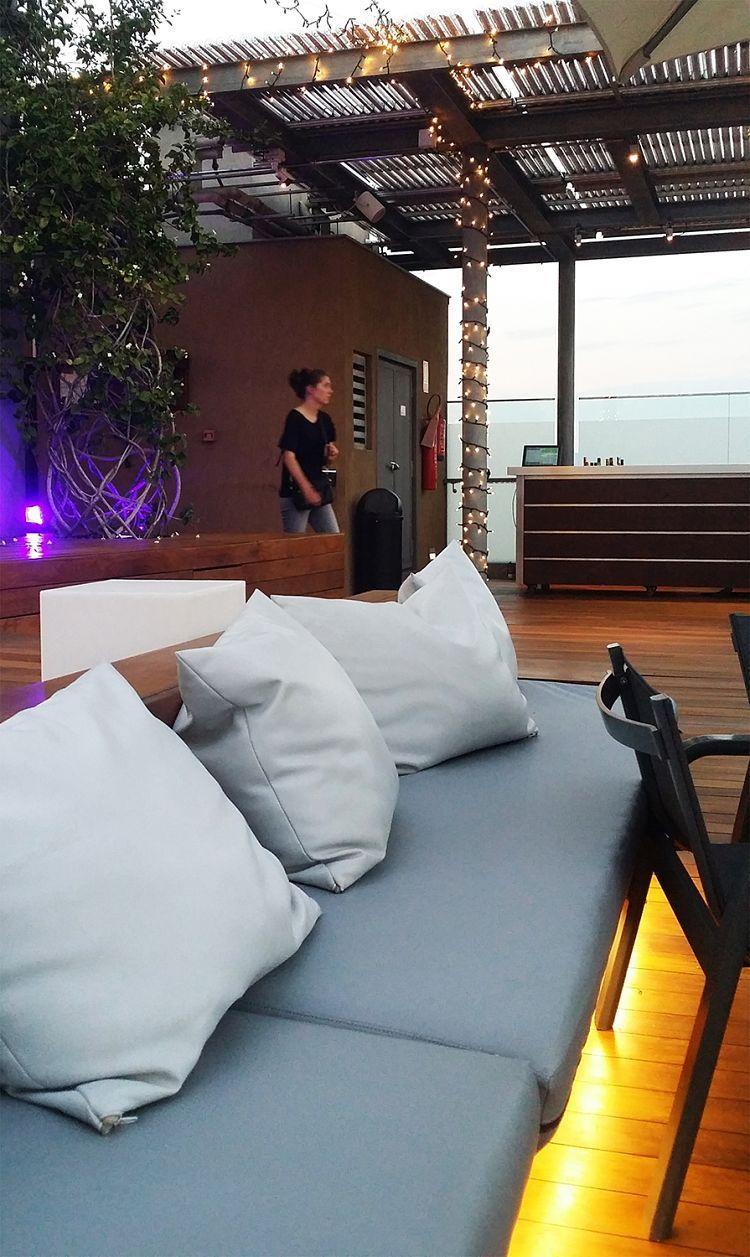 Iluminación Terraza Hotel Ayre Rosellon Barcelona