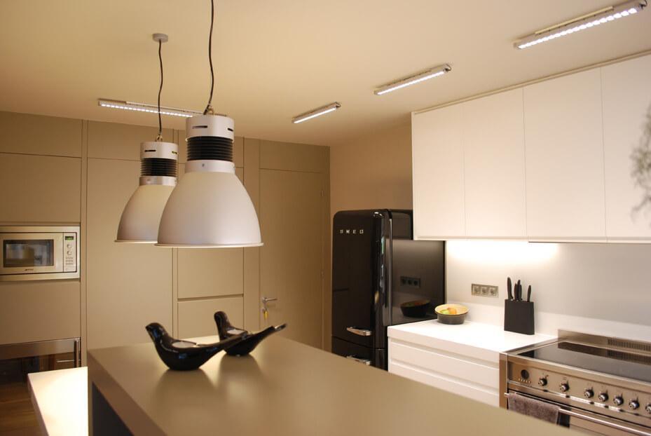 Iluminación LED en cocinas