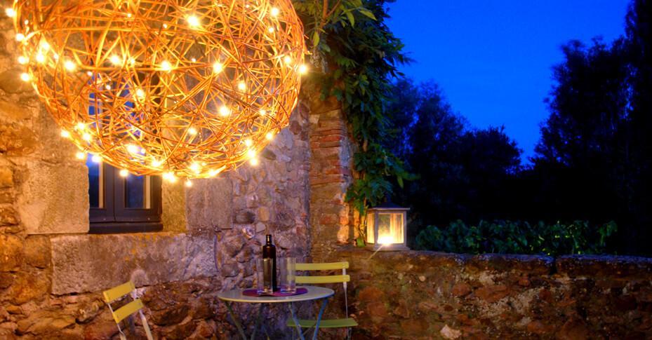 Iluminación exterior terrazas