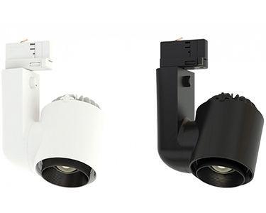 Proyector LED JADE ZOOM, de carril o de superficie