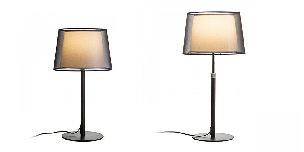 Lámpara de mesa Esplanade extensible para iluminación auxiliar y decorativa