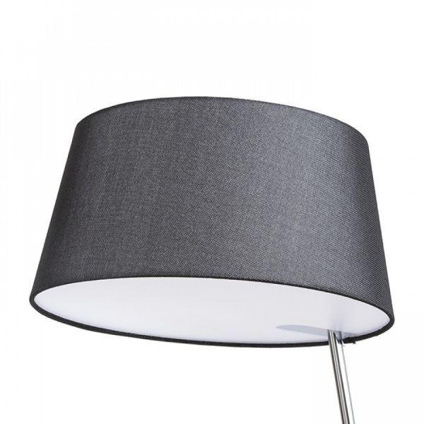 Lámpara de pie con pantalla textil Ritzy con difusor opal