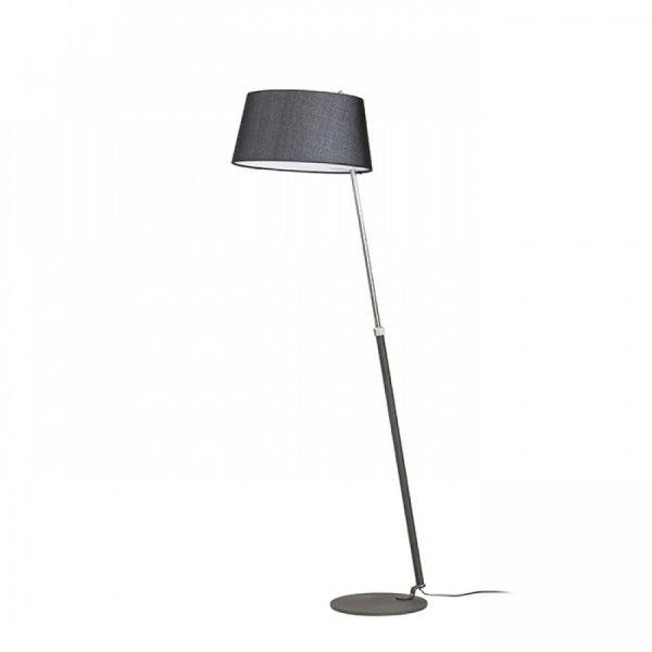 Lámpara de pie con pantalla textil Ritzy