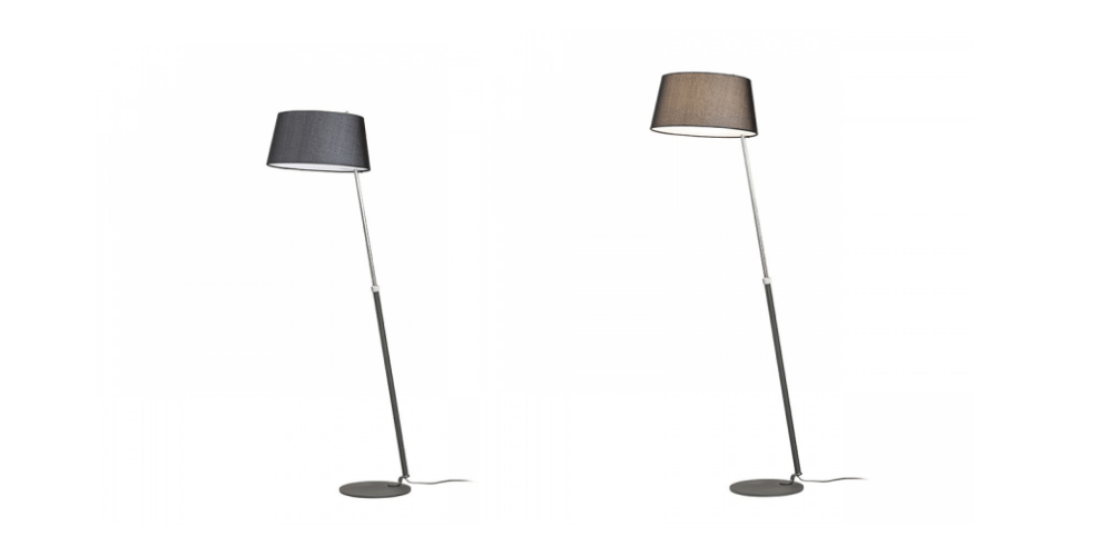 Lámpara de pie extensible Ritzy