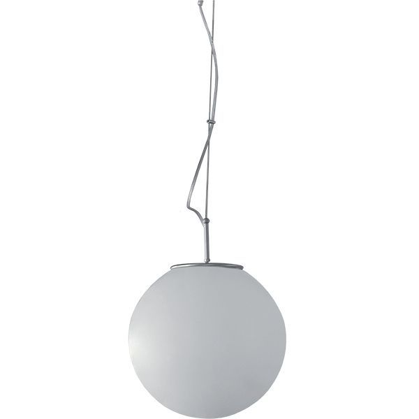 Lámpara globo de cristal suspendido modelo GOLF
