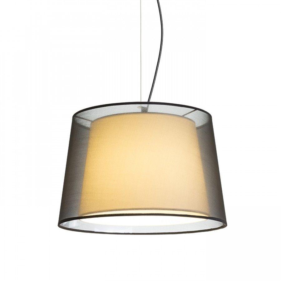Lámpara textil suspendida Esplanade pendant