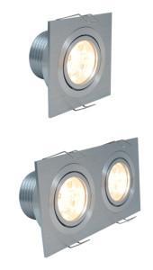 Spot LED LUXO3 cuadrado