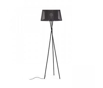Lámpara de pie de trípode modelo Boulogne