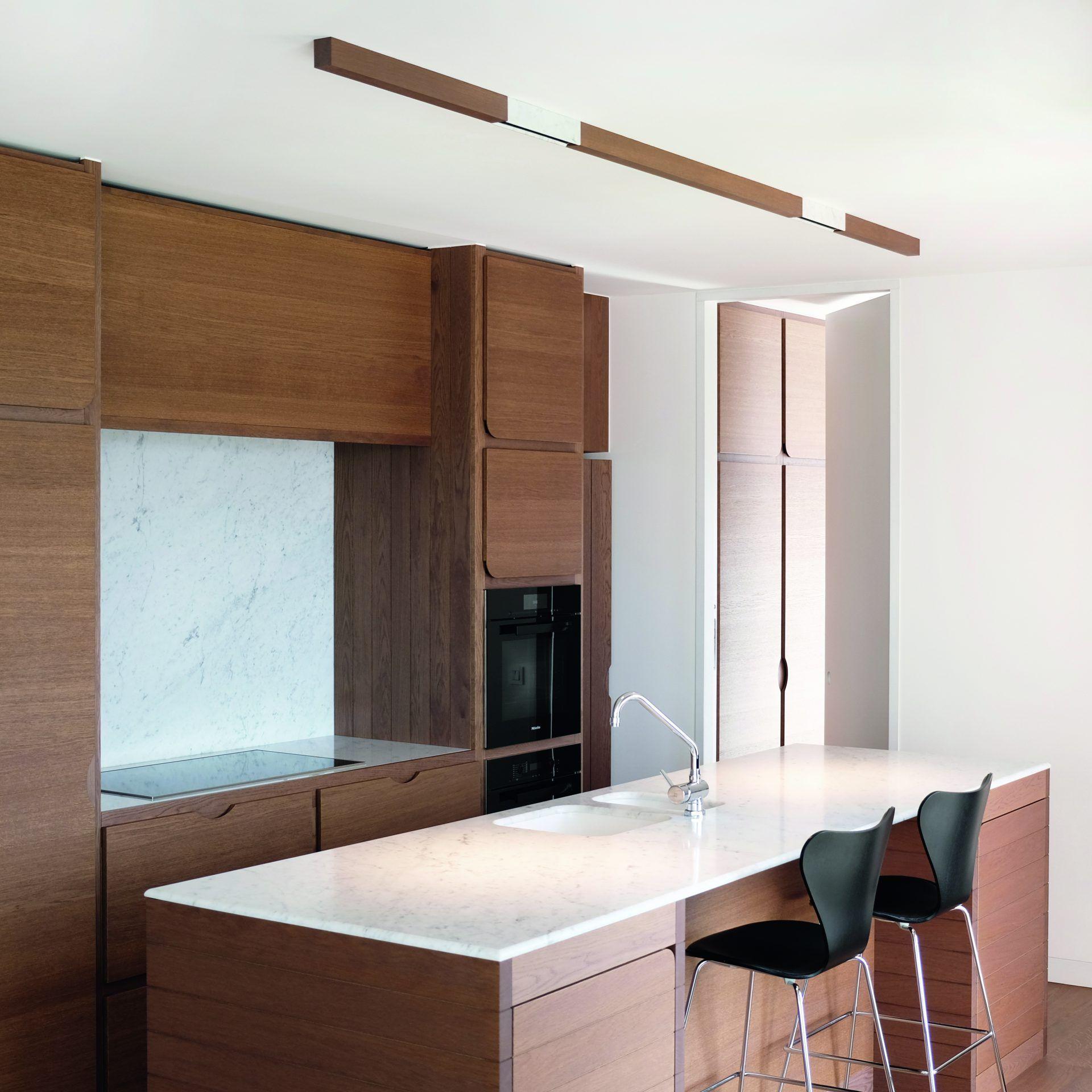 Iluminación lineal modular