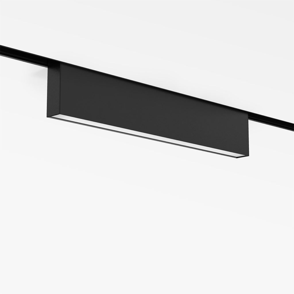 Luces de diseño para carril magnético