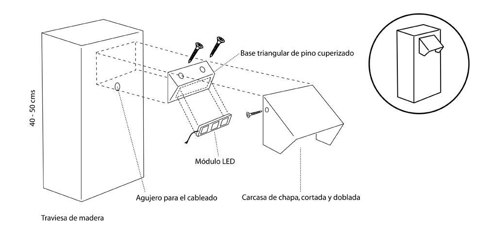 Montaje-Baliza-LED