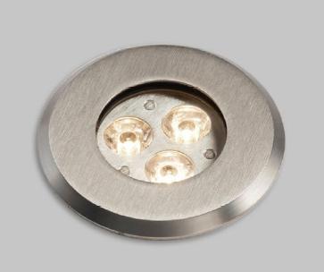 LED empotrable exterior INOX