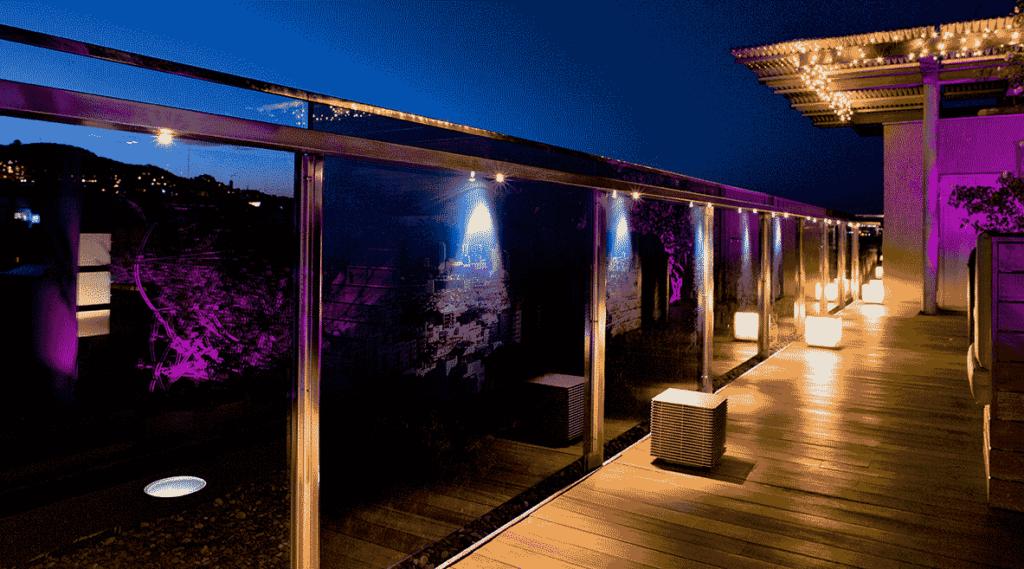 Proyectos de iluminación exterior
