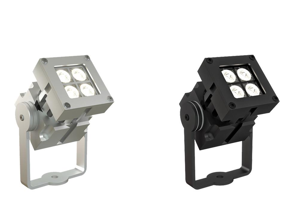 Proyector exterior LED de superficie REVO Compact Basic