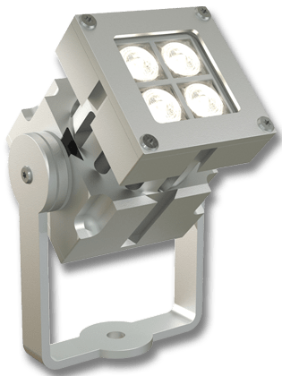 REVO Compact Proyector LED exterior