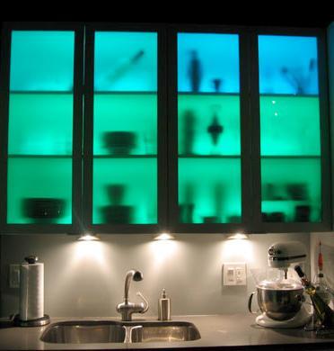 RGB iluminacion cocina