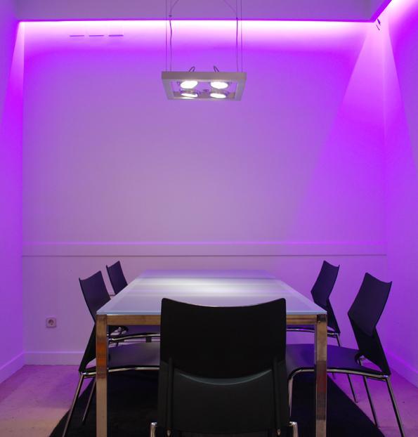 Iluminaci n led oficina iluminaci n outside tech light for Iluminacion led oficinas
