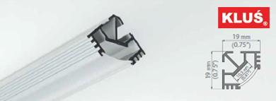 Perfil de aluminio para tiras led TAN C5