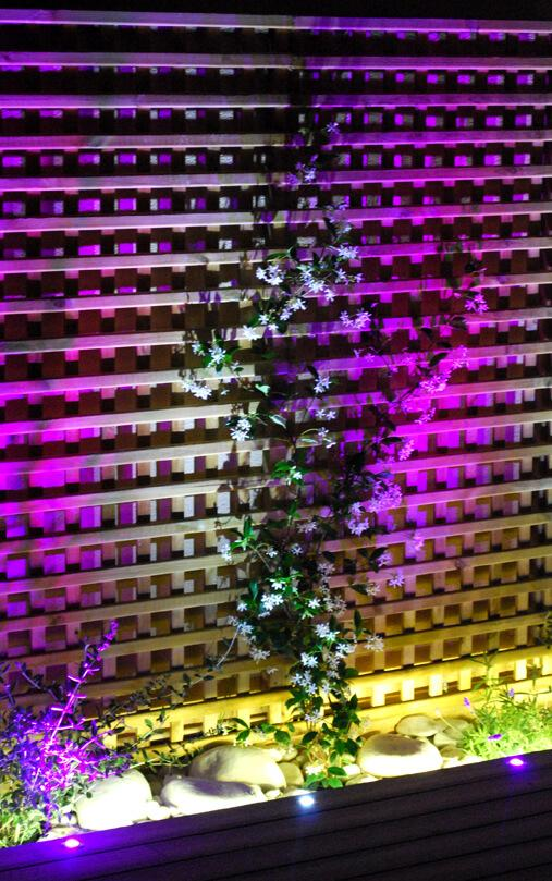 Iluminacion exterior led para terraza