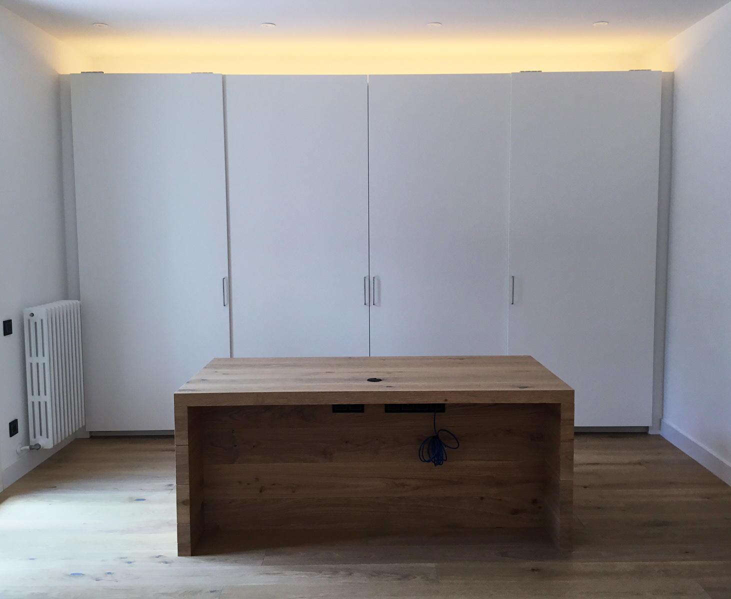 iluminación indirecta interior