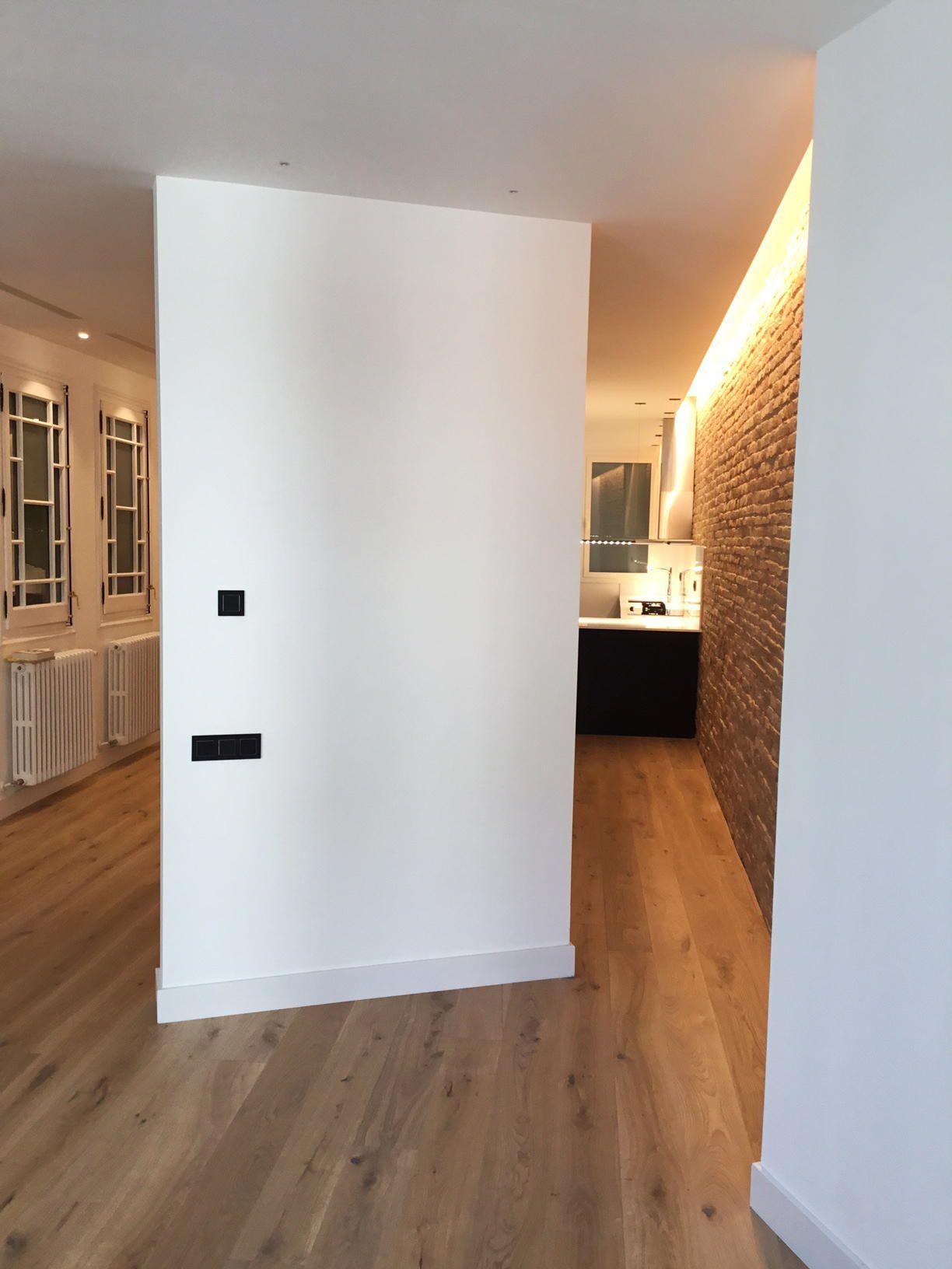Proyecto de iluminación interior. Rehabilitación de vivienda en centro histórico