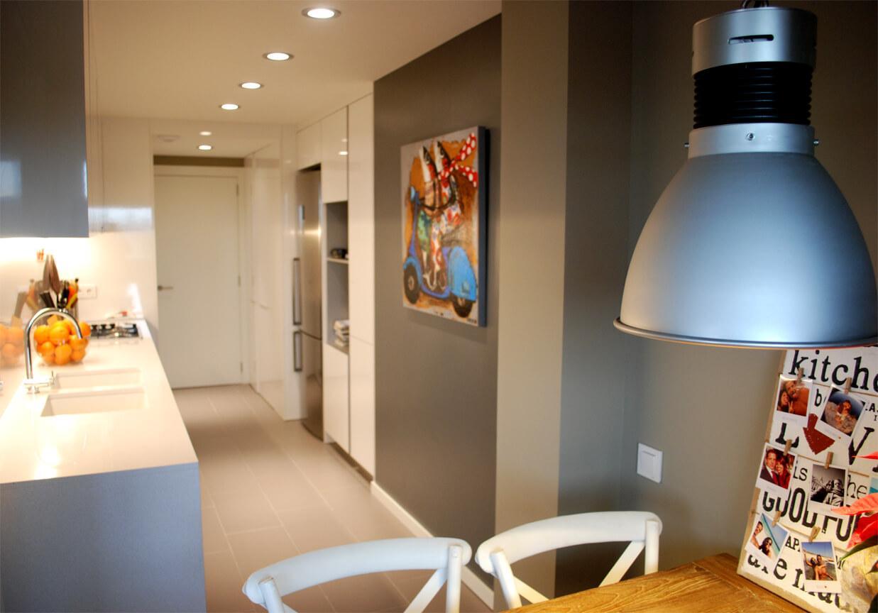 Iluminación de interiores. Plano proyecto