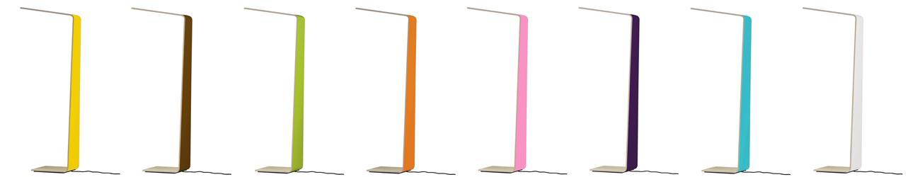 colores lámpara LED de lectura