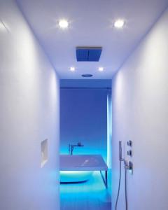 spot led exterior en ducha