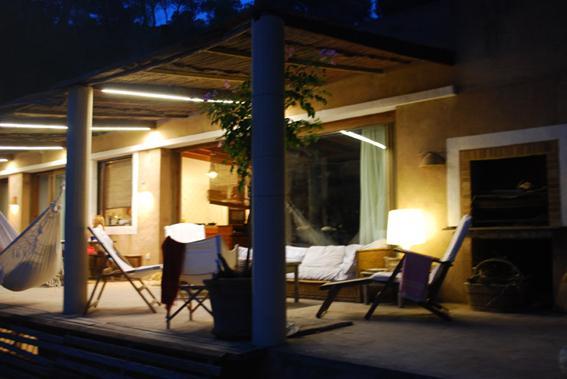 Iluminación porches. Iluminación exterior. Proyectos de iluminación ibiza