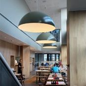 iluminación restaurantes
