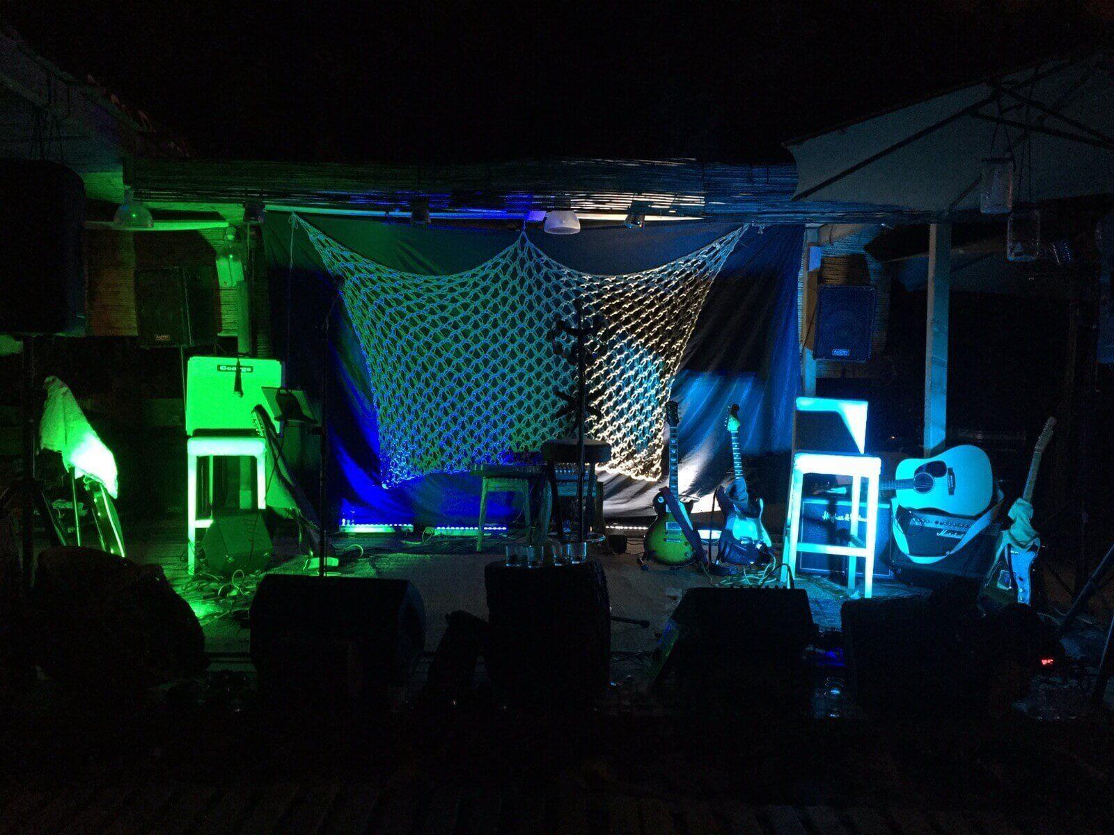 iluminación led eventos