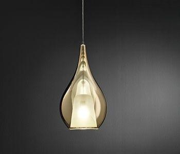 lámpara de suspensión de cristal ZOE