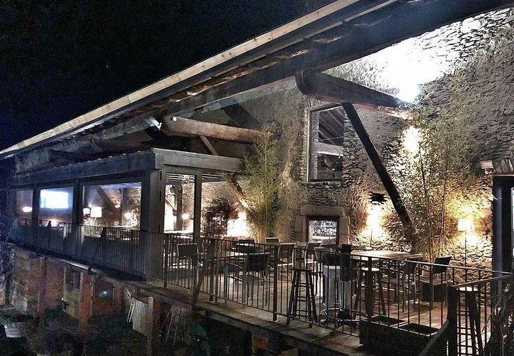 iluminación terrazas restaurantes