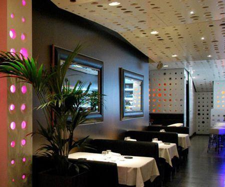 proyectos de iluminación para restaurantes y cafeterías