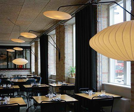 proyectos iluminación restaurantes