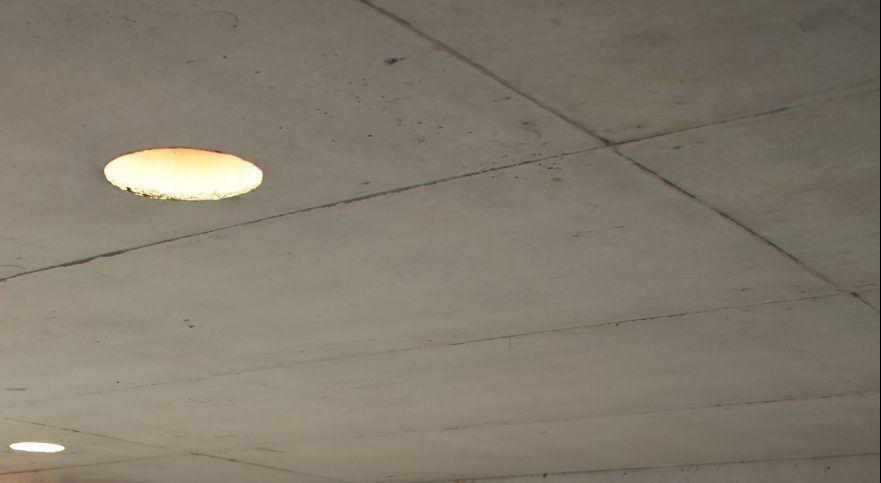 spot led para techos de hormigón