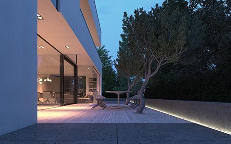Luces led para terraza y jard n iluminaci n led exterior for Iluminacion de exteriores